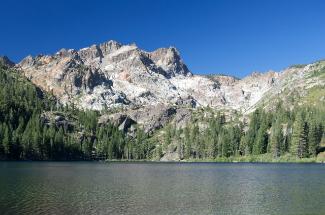 Sardine Lake and Sierra Buttes
